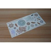Quality Stock wholesales metallic tattoo designs M-T024 for sale