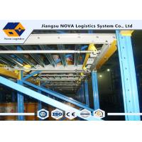 China Large Capacity Gravity Flow Pallet Rack, ISO Rolling Tire Storage Rack on sale