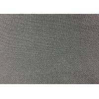 China Dyeing Plain Gray Cotton Polyester Blend Fabric For Shirts / Dress / Workwear on sale