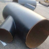 Quality DN500*300 45 Degree carbon steel welded lateral tee tube connector for sale