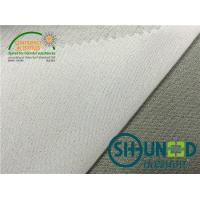 Quality Colorful Garments Stretch Interfacing 100% Polyester Circular Knit for sale