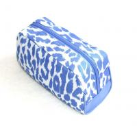 Buy Full-printed-blue-polyester-cosmetic-bag-makeup bag at wholesale prices