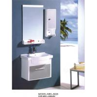 Quality PVC bathroom vanity / wall cabinet / hanging cabinet / white color for bathroom 60 X49/cm for sale