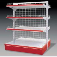 Quality Retail Supermarket Display Shelving Metallic Wire Mesh Back Panel for sale