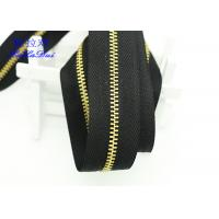 Quality H65 Brass 40 Inch  / 48 Inch Separating Zipper  , Heavy Duty Metal Zippers For Coats for sale