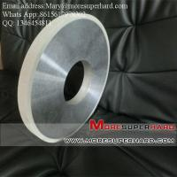 Quality Vitrified bond Diamond Centerless Grinding Wheel for Grinding the Cylinder of PDC for sale