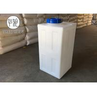 Rectangular Shape Plastic Water Dosing Tank 80 L Roto Molded Poly