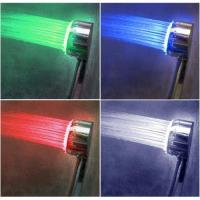 China RGB 3 color shower head on sale