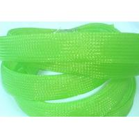 Quality UL VW-1 expandable braided polyester sleeving For Cable Protection for sale