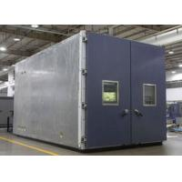 China Walk In Environmental Testing Equipment +20 ºC~+80 ºC Safety With Dry Heat Protection on sale