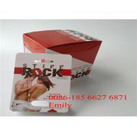 Quality Coated Paper Blister Card Packaging Glossy Lamination For Sexual Enhancement Pills for sale
