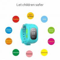 Buy cheap gsm watch gps tracker T108 for kids child gps tracker bracelet from wholesalers