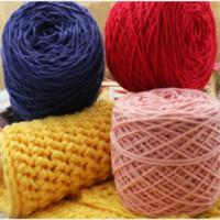 Quality Super Soft And Hot Sale Multi-Color Organic Cotton Knitting Yarn For Baby Wear for sale