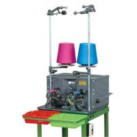 China Cotton Thread Automatic Bobbin Winding Machine 0.2kw With Electronic Counter on sale