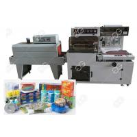 Buy cheap AC220V Food Packaging Sealing Equipment / Automatic Shrink Wrap Machine from wholesalers