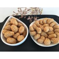 High Nutrition Coated Cashew Nuts Healthy Snack With Sesame