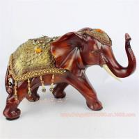 Quality Resin Elephant Decoration Resin Elephant Craft Resin Thailand Elephant Figure (XH070) for sale