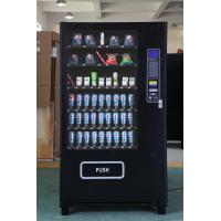 China Bubble Gum Snack And Drink Vending Machine By Smart Card Pay on sale