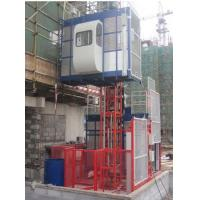 Quality 1000kg Twin Cage Construction Hoist Elevator for Building Material for sale