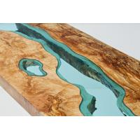 Quality Transparent Crystal Wood Epoxy resin Adhesive P-128 for River Table for sale