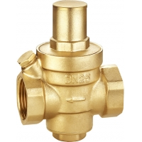 """Quality 3112 Piston Type Pressure Reducing Brass Valve with Meter Outlet & Anti-dust Cap & Built-in Filter Sizes from 1/2"""" to 2"""" for sale"""