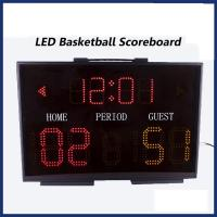 China Light Electronic LED Portable Basketball Scoreboard on sale