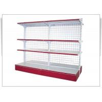 Quality Heavy Duty Steel Convenience Store Shelving With Back-Webbing , Phosphating for sale