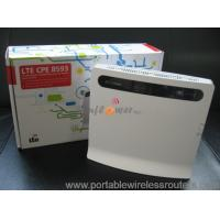 Quality Huawei B593 4G Hotspot Router LTE CPE Gateway FDD TDD with RJ11 RJ45 port for sale