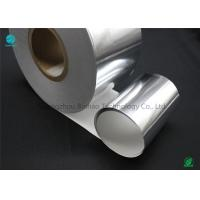 Quality Silver Moisture - Proof Aluminium Foil Paper With White Backing Base Paper For Premium Cigarette Packaging for sale