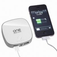 China Charger for iPhone/iPad/Other Mobiles/Cameras/PSP/MP4 Players, Li-polymer Battery with Dual Output on sale