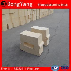 China Firebrick High-Alumina Refractory Brick Shaped Alumina Brick Customization Manufacturers on sale
