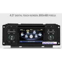 Quality Multimedia Autoradio for Jeep Grand Cherokee Wrangler Liberty GPS Sat Nav Stereo Car Stereo DVD Player for sale