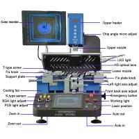 Quality New released WDS-650 auto bga rework station with light infrared heating for sale