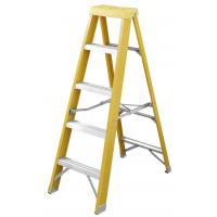 Quality Foldable  Insulated Fiberglass Step Ladder 2x5  EN131 Certificated for sale