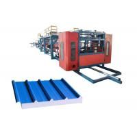 Quality Weight 16.3T Rockwool Sandwich Panel Machine , EPS Sandwich Panel Production Line for sale