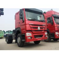 Quality Heavy Duty Prime Mover Truck 336HP Engine HOWO76 Cabin 4x2 Driving Type for sale