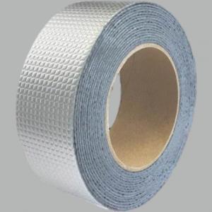Quality Aluminum Foil Butyl Powerful butyl window tape Top Self Adhesive Aluminum Foil Butyl Rubber Tape for sale