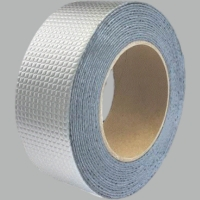 Buy cheap Hot Sale high sticky self adhesive butyl tape waterproof aluminum foil butyl from wholesalers