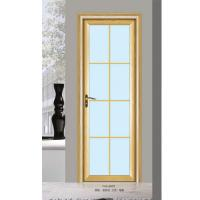 Buy Silver Aluminium Glass Doors / Office Tempered Interior Glass Door at wholesale prices