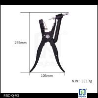 Quality Black Colour Ear Tag Pliers Applicator For All Two Pieces Tags Energy Saving for sale