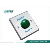 China 86 * 86 * 20mm Green Mushroom Push Button NO / COM With 1 Year Warranty on sale