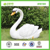 Quality Resin Animal Garden Swan Statue for sale