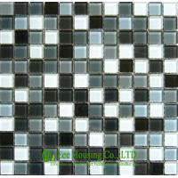 China Mixed Color Crystal Mosaic Tile for Bathroom and Kitchen,China Glass mosaic tile For Sale on sale