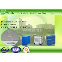 Buy cheap Cas No 124-17-4 diethylene Glycol Monobutyl Ether Acetate Colorless and transparent liquid from Wholesalers