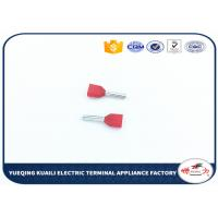 Quality Plating tin Insulated Cord End Terminals twin cord wire end terminals crimping for sale