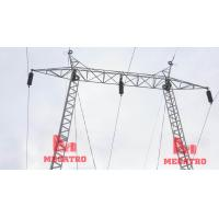 Quality 110KV Gantry type single circuit transmission steel structure for sale