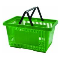 Quality Superbasket Rolling Shopping Baskets / Carts with Four Wheels Model-55L, 580x390x450mm for sale