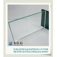China clear float glass building materials on sale