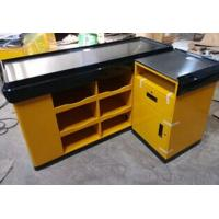 Quality Supermarket Shop Retail Store Counters / Cash Register Counter 1500 * 1200 * 850 MM Size for sale