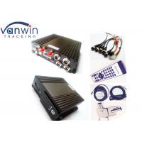 Quality 4CH 720P Mini SD Card Vehicle Mobile DVR With GPS 3G 4G Wifi for sale